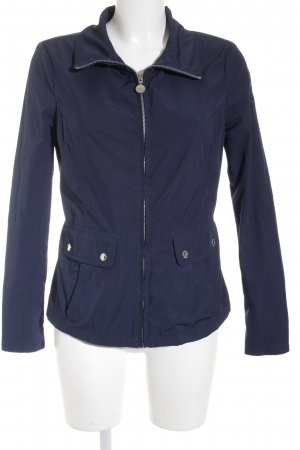 Tommy Hilfiger Overgangsjack staalblauw-donkerblauw simpele stijl