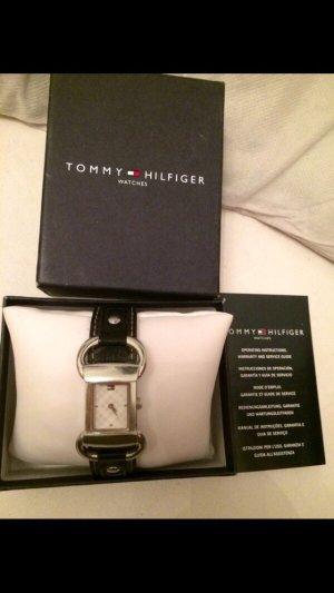 Tommy Hilfiger Uhr blau Leder Armband Original