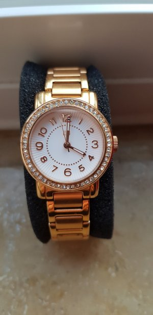 Tommy Hilfiger Montre analogue or rose