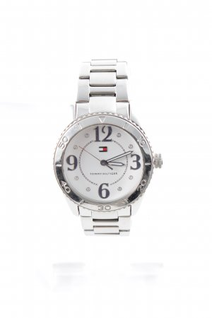 "Tommy Hilfiger Orologio con cinturino di metallo ""Stainless Steel"" argento"