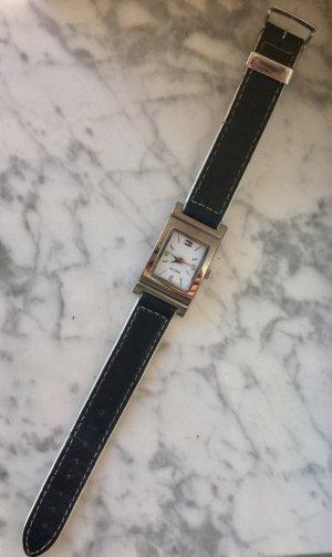 Tommy Hilfiger Uhr, schwarz weiß