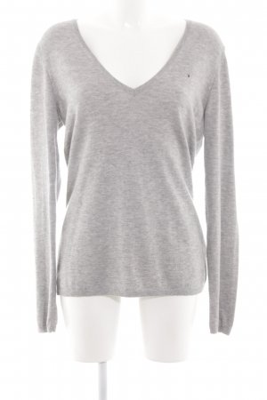 Tommy Hilfiger V-Neck Sweater light grey casual look