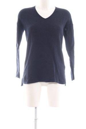 Tommy Hilfiger V-Ausschnitt-Pullover blau Casual-Look