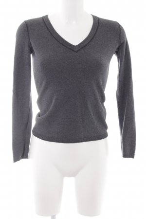 Tommy Hilfiger V-Neck Sweater anthracite casual look