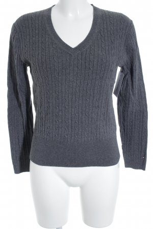 Tommy Hilfiger V-Neck Sweater grey casual look