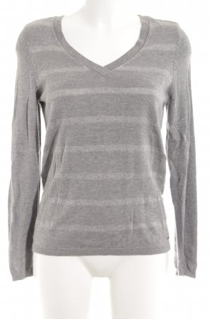 Tommy Hilfiger V-Neck Sweater grey flecked casual look