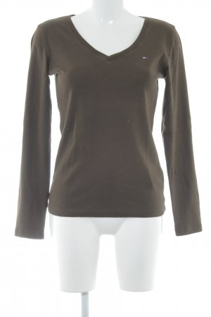 Tommy Hilfiger V-Neck Sweater grey brown casual look