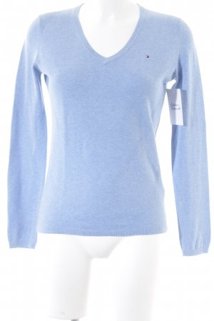 Tommy Hilfiger V-Neck Sweater azure casual look