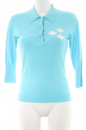 Tommy Hilfiger V-Neck Sweater azure-white casual look