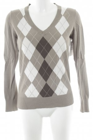 Tommy Hilfiger V-Neck Sweater check pattern casual look