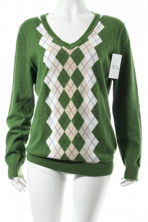 Tommy Hilfiger V-Ausschnitt-Pullover mehrfarbig klassischer Stil