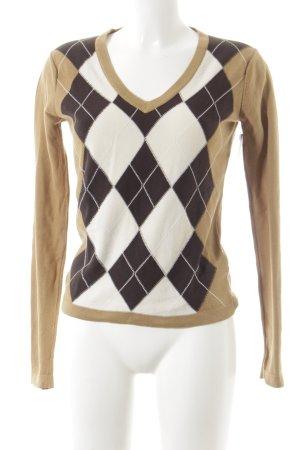Tommy Hilfiger V-Ausschnitt-Pullover mehrfarbig Street-Fashion-Look