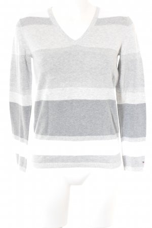 Tommy Hilfiger V-Neck Sweater striped pattern casual look