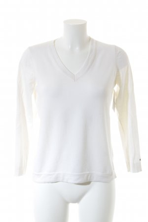 Tommy Hilfiger V-Neck Sweater natural white casual look