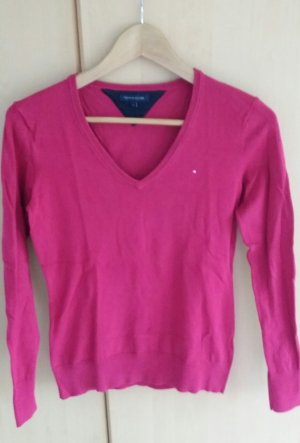 Tommy Hilfiger V-Neck Sweater raspberry-red