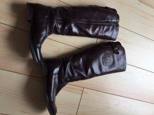 Tommy Hilfiger Voll-Leder Schuhe 39 braun