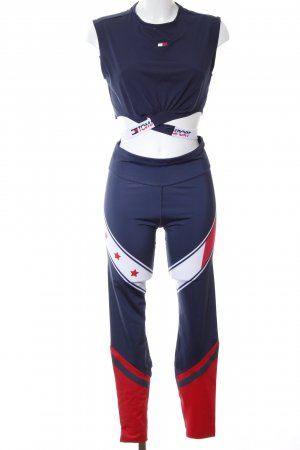 Tommy Hilfiger Woven Twin Set color blocking athletic style