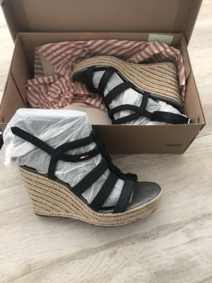 Tommy Hilfiger Wedge Sandals black