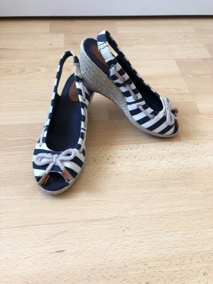 Tommy Hilfiger Wedge Sandals white-dark blue