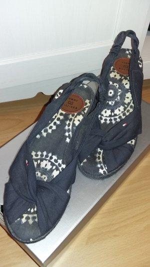 Tommy Hilfiger Wedges Keilabsatz Sandalen blau