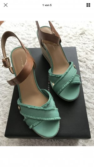 Tommy Hilfiger Wedge Sandals green-lime-green