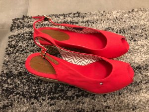Tommy Hilfiger Wedges rot