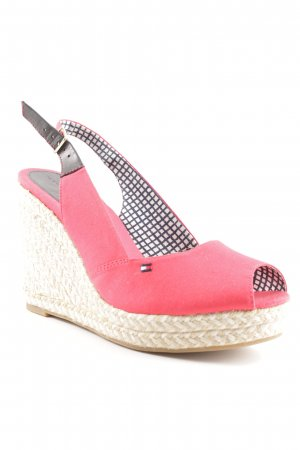 Tommy Hilfiger Wedge Sandals multicolored beach look
