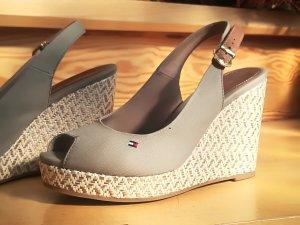 Tommy Hilfiger Wedge Sandals beige-light grey