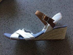 Tommy Hilfiger Wedge Sandals multicolored textile fiber