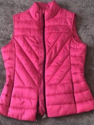 Tommy Hilfiger Quilted Gilet neon pink