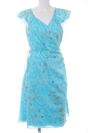 Tommy Hilfiger Wickelkleid florales Muster extravaganter Stil