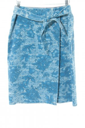 Tommy Hilfiger Wraparound Skirt turquoise allover print casual look