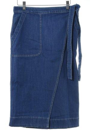 Tommy Hilfiger Jupe portefeuille bleu style décontracté