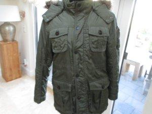 Tommy Hilfiger Winter Parka Mantel Jacke Gr. S olive