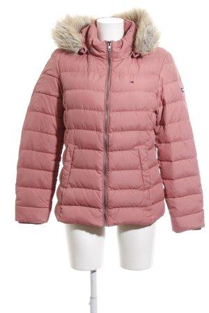 Tommy Hilfiger Winterjacke pink Steppmuster Street-Fashion-Look