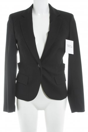 Tommy Hilfiger Wool Blazer black business style