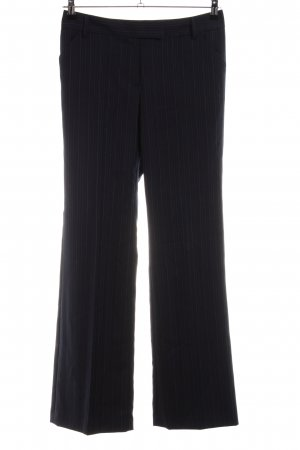 Tommy Hilfiger Woolen Trousers black striped pattern business style