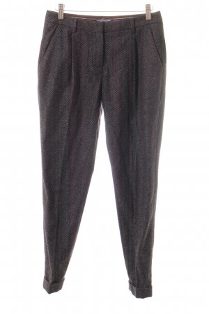 Tommy Hilfiger Wollhose grau-anthrazit meliert Casual-Look