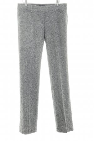 Tommy Hilfiger Wollhose grau-taupe Webmuster Business-Look