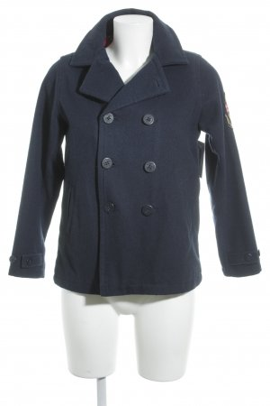 Tommy Hilfiger Wool Jacket dark blue casual look