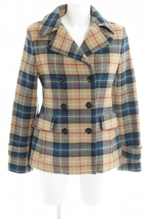 Tommy Hilfiger Wolljacke Glencheckmuster Casual-Look