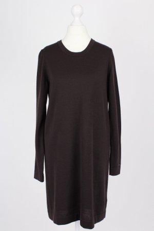 Tommy Hilfiger Vestito di lana marrone-rosso Lana