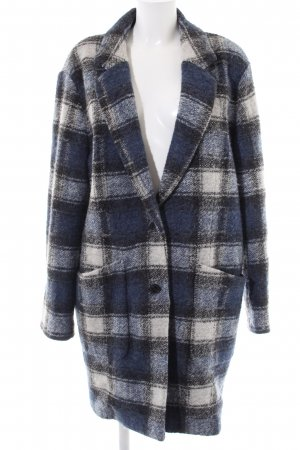 Tommy Hilfiger Wollmantel Karomuster Casual-Look