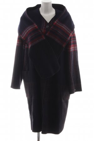 Tommy Hilfiger Wollmantel Glencheckmuster Casual-Look