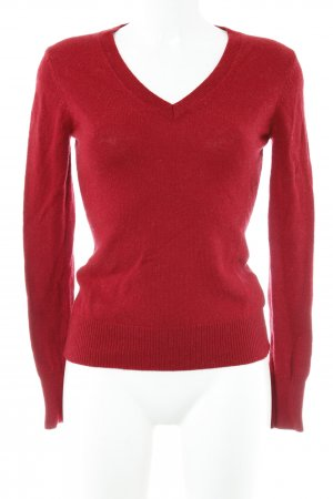 Tommy Hilfiger Wollpullover dunkelrot Casual-Look