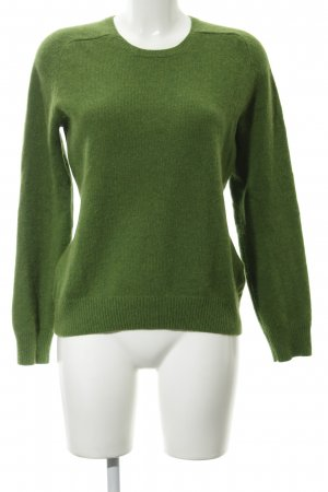 Tommy Hilfiger Wollpullover grasgrün Casual-Look