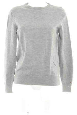 Tommy Hilfiger Wollpullover grau Casual-Look