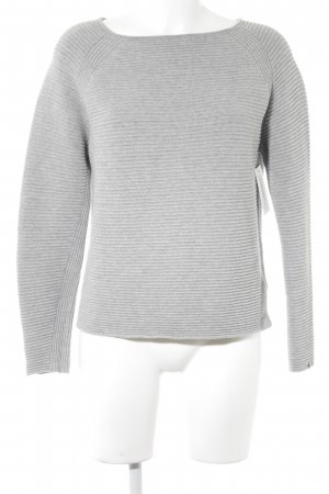 Tommy Hilfiger Wool Sweater light grey casual look