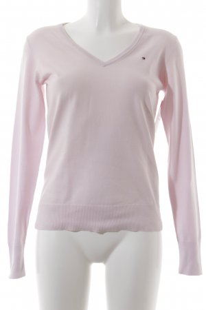 Tommy Hilfiger Wollpullover rosa Casual-Look