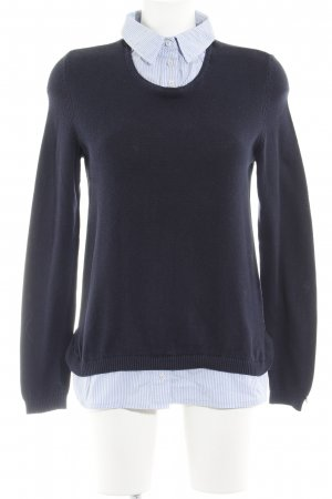 Tommy Hilfiger Wollpullover Streifenmuster Business-Look